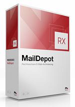 Rechtssicheres E-Mail Management mit MailDepot von REDDOXX