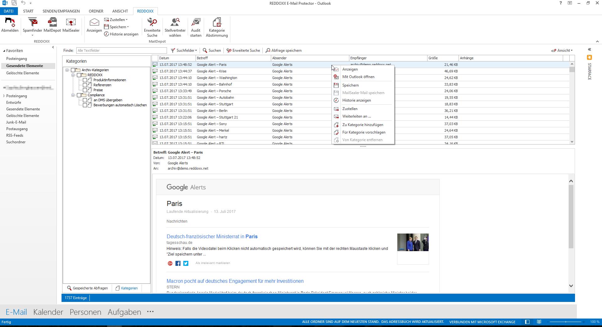 Outlook Plug-In