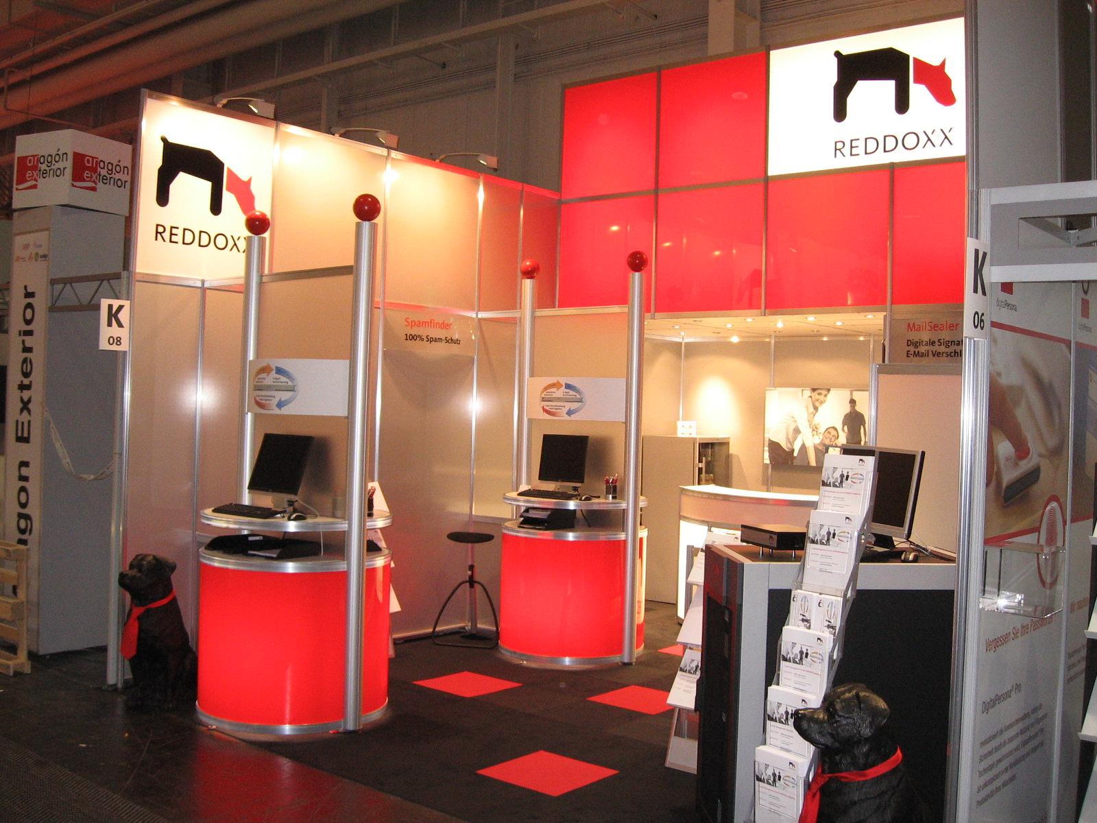 REDDOXX auf der CeBIT 2008