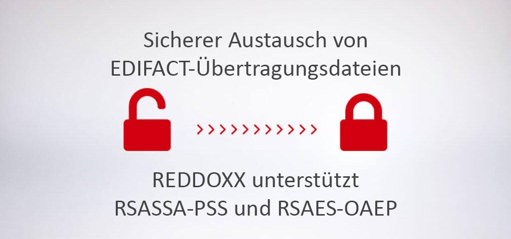 Energieversorger EDIFACT Übertragungsdateien RSASSA-PSS und RSAES-OAEP