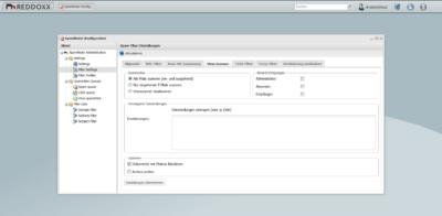 Der Virenscanner bietet u.a. die Möglichkeit, Officedokumente auf Makros zu durchsuchen und diese zu blockieren
