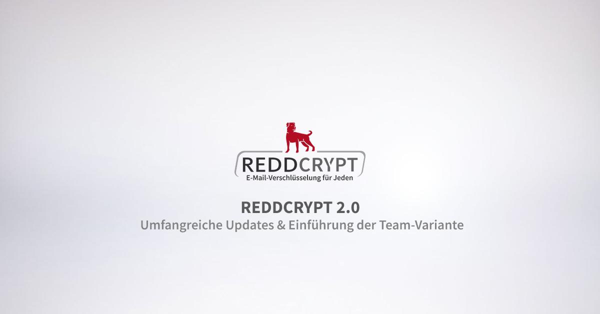 Launch der Teamvariante von REDDCRYPT