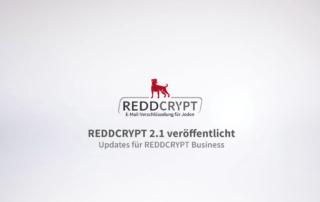 REDDCRYPT 2.1 veröffentlicht - Updates für REDDCRYPT Business