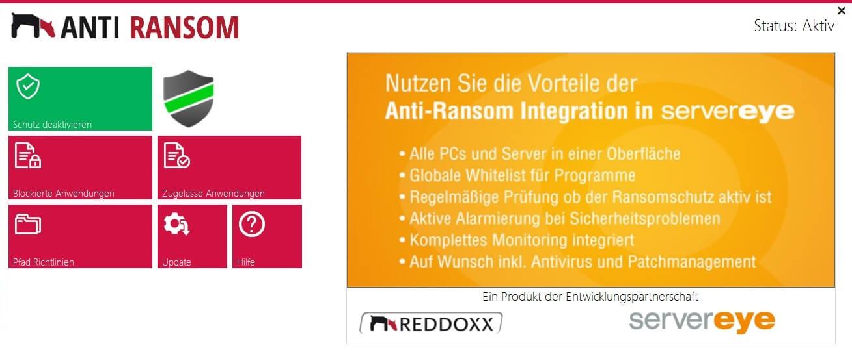 REDDOXX ANTI-RANSOM - Krypto-Trojaner - Anti Ransomware