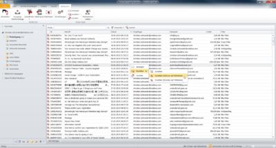 Sollte eine E-Mail fälschlicherweise als Spam erkannt worden, kann sich der User die E-Mail zustellen und - sofern berechtigt - einen persönichen Whitelisteintrag vornehmen